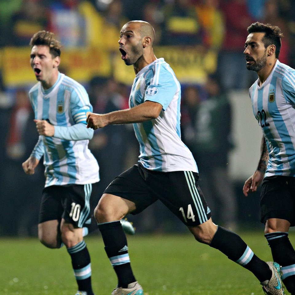 Messi i Mascherano w finale Copa América!
