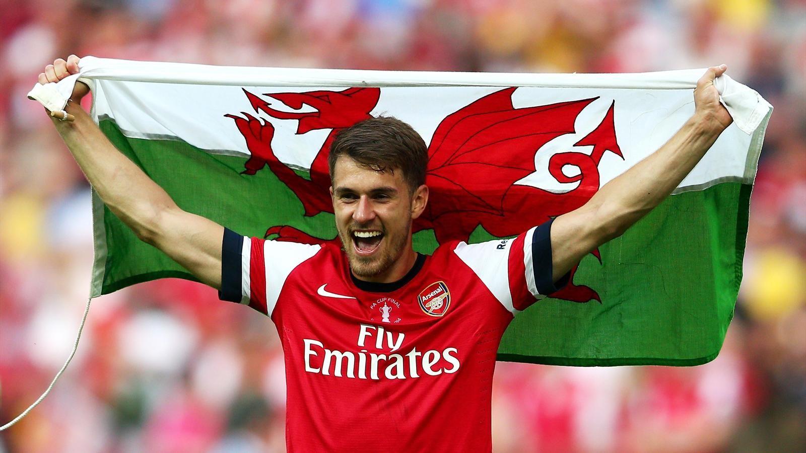 Ramsey: Pochlebia mi zainteresowanie Barçy