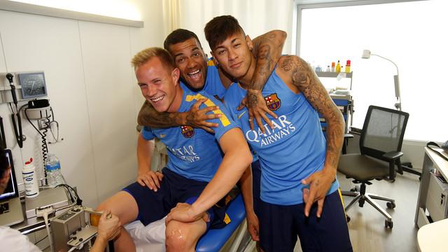 Mascherano, Messi, Alves, Neymar i Ter Stegen przeszli testy medyczne