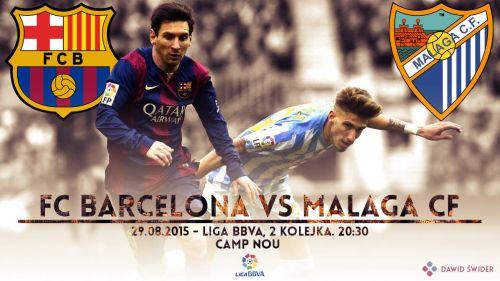 Zapowiedź meczu FC Barcelona – Málaga CF; Po zwycięstwo na Camp Nou