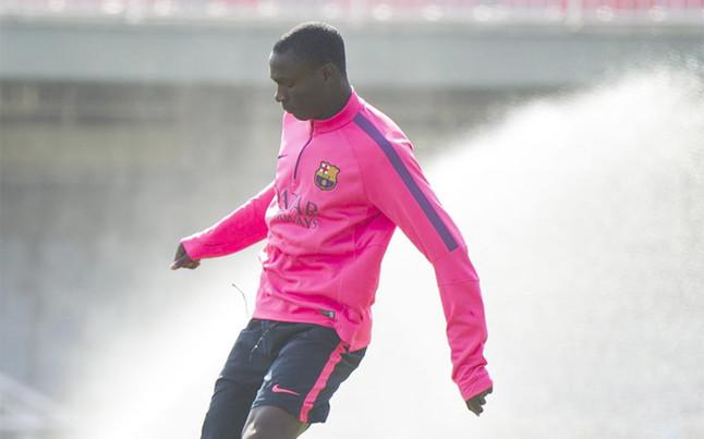 Adama Traoré nie pojawił się na treningu Barçy B