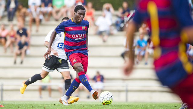FC Barcelona B – Unió Atlètica Horta: Grad goli zespołu rezerw (7:0)