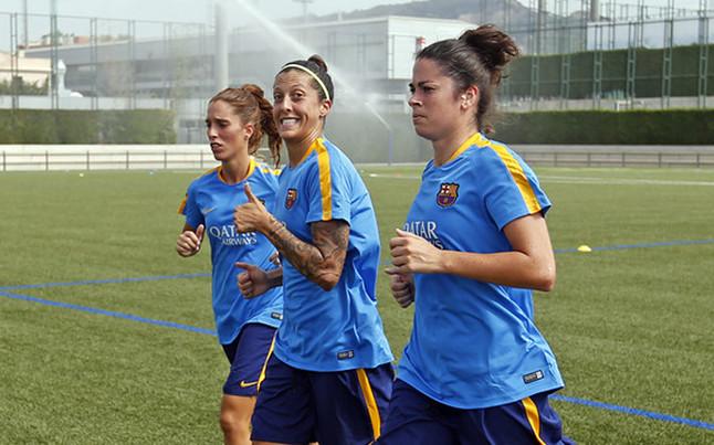 Piłkarki FC Barcelony rozpoczęły treningi