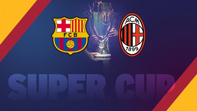 Barça dogoniła Milan w ilości Superpucharów