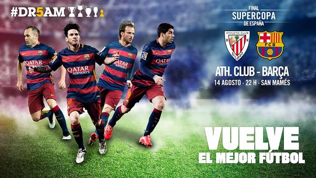 Athletic Club – FC Barcelona: Znany finał