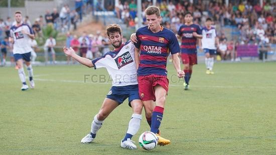 UE Sant Ildefons – FC Barcelona B: Dobry mecz na sztucznej trawie (2:5)