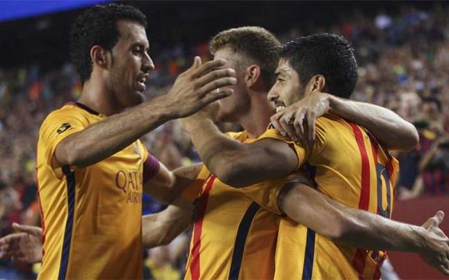 Busquets i Suárez podstawowymi zawodnikami w presezonie