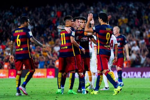 Pewne zwycięstwo na Camp Nou: FC Barcelona – AS Roma 3:0