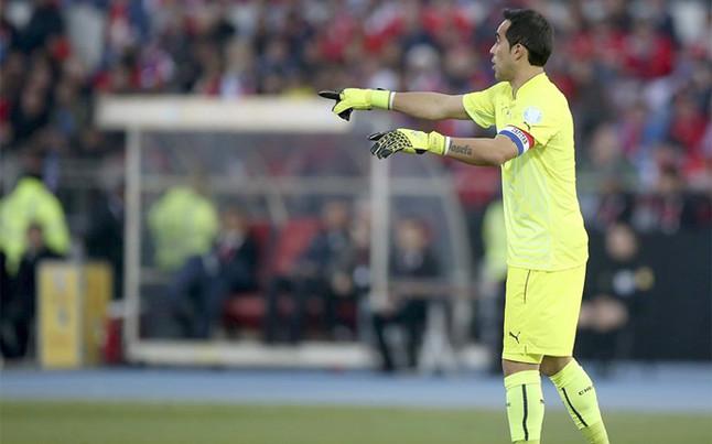 Claudio Bravo nie został powołany do reprezentacji Chile