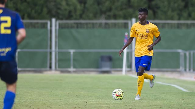 FC Barcelona rozwiązała umowę z Edgarem Ié