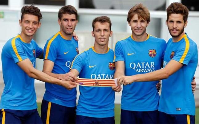 Barça B wybrała nowych kapitanów