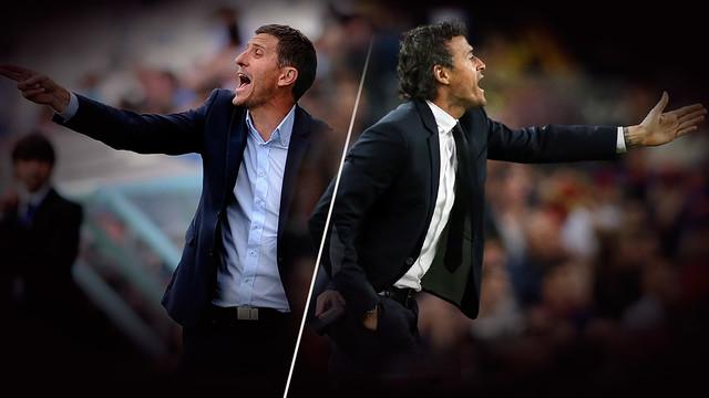 Luis Enrique i Javi Gracia: 10 pojedynków piłkarzy
