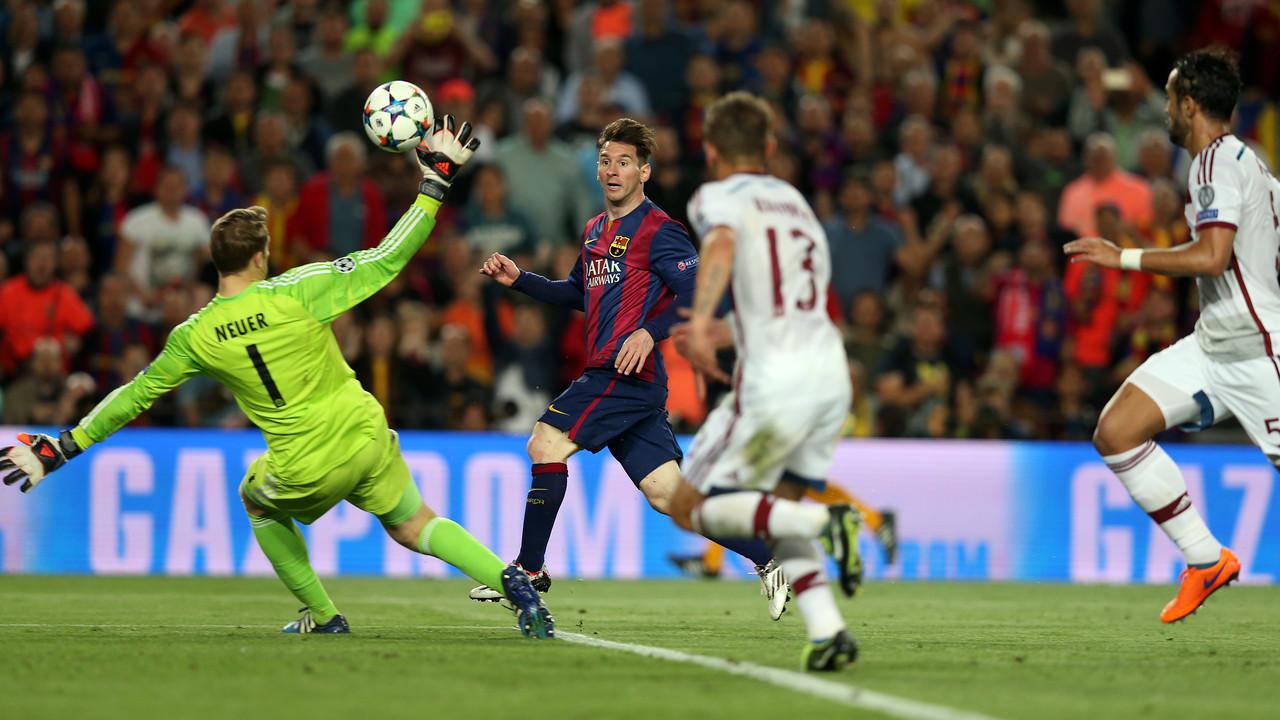 Leo Messi i Manuel Neuer