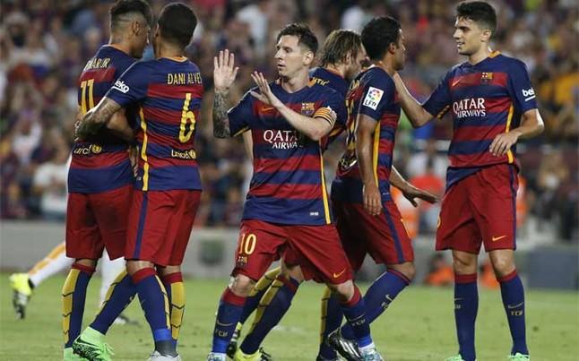 Messi z największą liczbą występów w Superpucharze Europy z obecnego składu