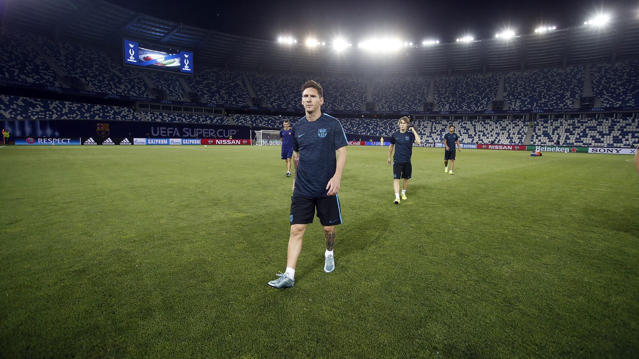 Pierwszy kontakt z Dinamo Arena