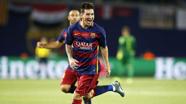 Leo Messi wybrany Najlepszym Piłkarzem Roku w Europie według UEFA