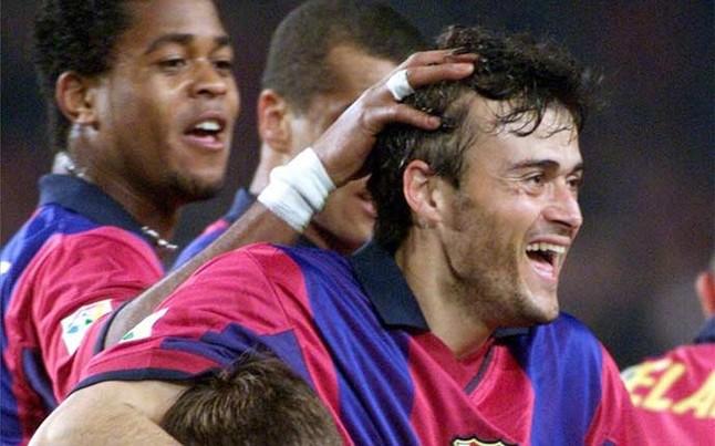 Luis Enrique strzelił hattricka w wygranym 7:0 meczu z Athletic