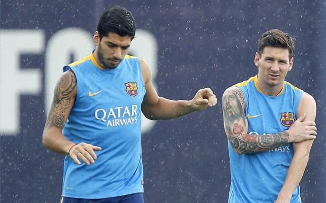 Trening po powrocie z Bilbao