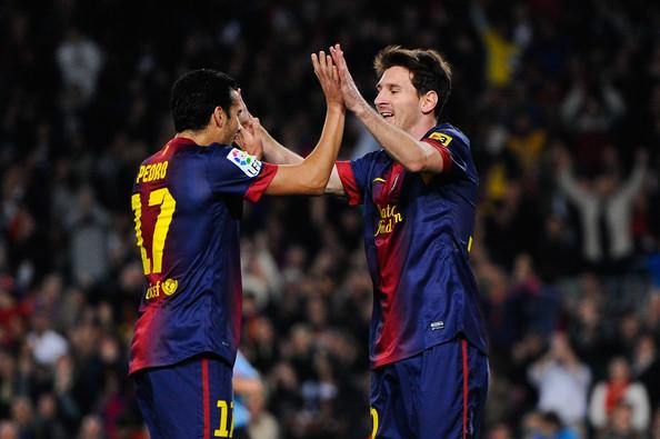 Messi pożegnał Pedro na Facebooku