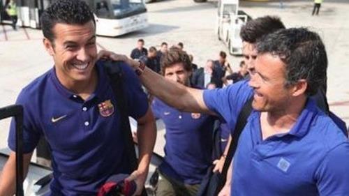 Luis Enrique chce Pedro na Superpuchar Hiszpanii