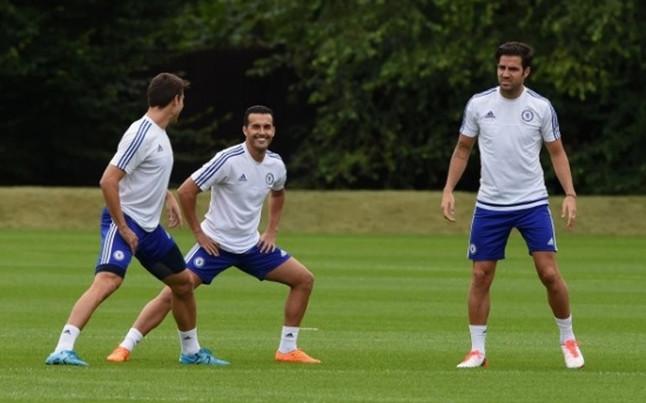 Pedro już trenuje z Chelsea