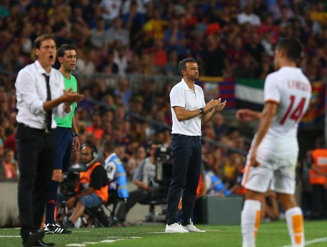 Rudi García: Barcelona pokazała, że jest najlepsza na świecie