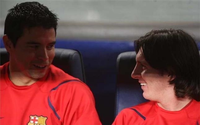 Saviola: Miło byłoby się znów spotkać z Messim i Iniestą