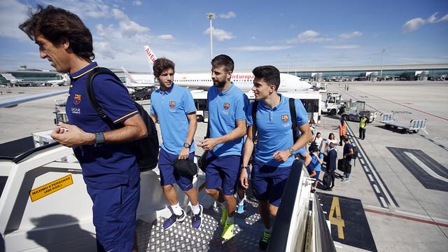 Piłkarze są już w Bilbao