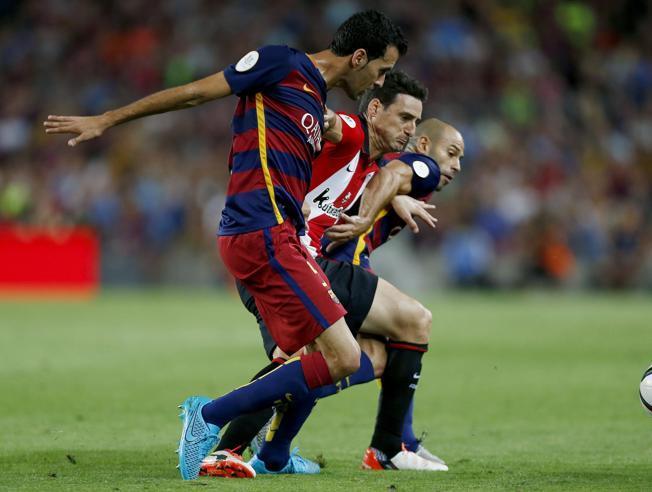 Busquets: Wyrzucenie Piqué ustawiło mecz