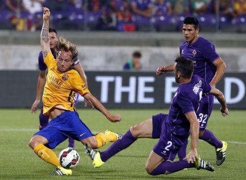 Kolejna przegrana w presezonie: ACF Fiorentina – FC Barcelona (2:1)