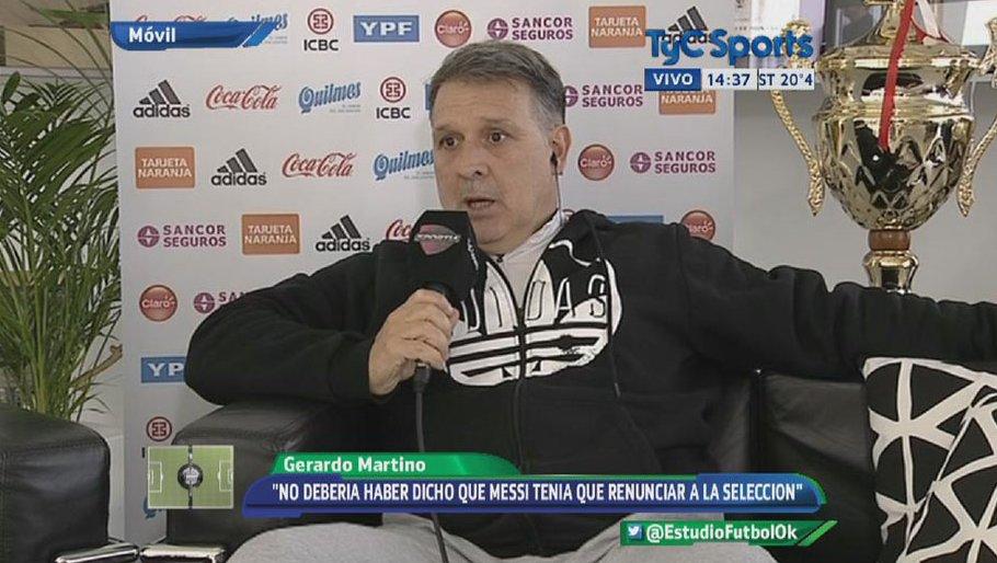 Martino: Nie rozmawiałem z Messim o powołaniu