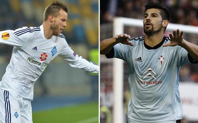 Yarmolenko i Nolito awaryjnymi alternatywami dla Barçy