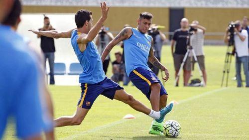 Busquets i Neymar gotowi do gry