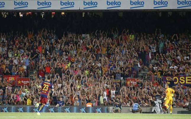 94 222 widzów obejrzało mecz z Romą na Camp Nou
