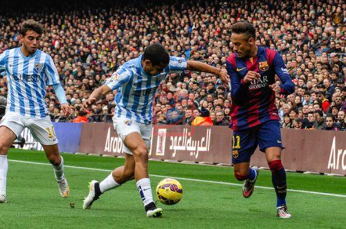FC Barcelona – Málaga CF; Składy