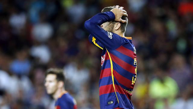 FC Barcelona odwoła się od kartki Piqué