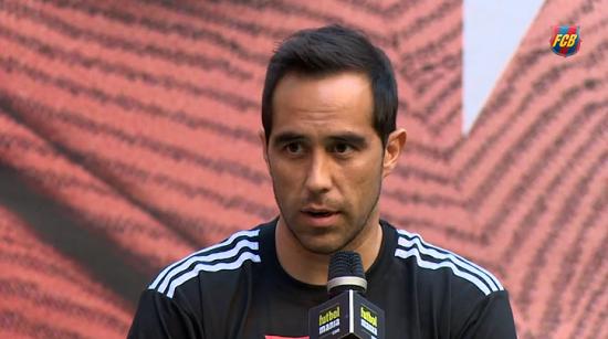 Claudio Bravo: Czuję się dobrze i mam wielkie chęci do powrotu