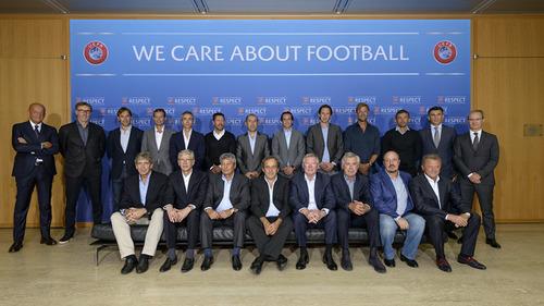 Luis Enrique na forum trenerów UEFA