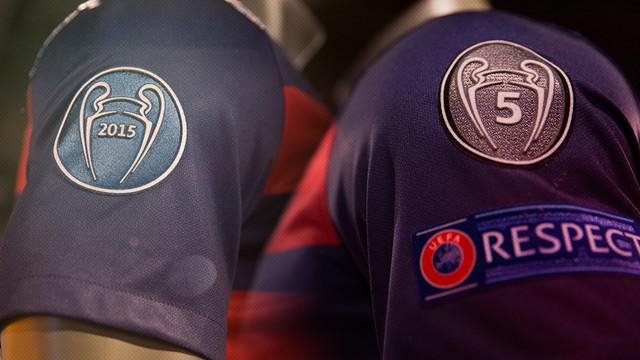 FC Barcelona z nowymi naszywkami na koszulkach