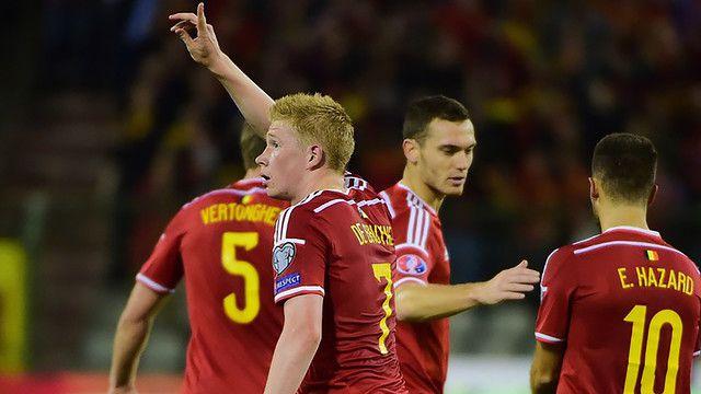 Belgia wygrywa z Bośnią i Hercegowiną