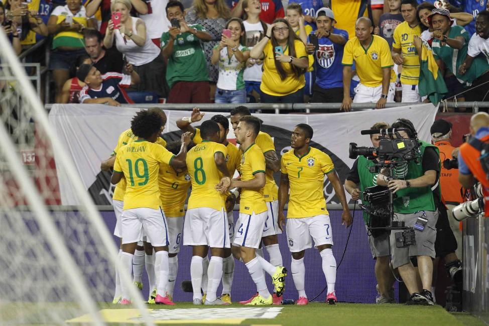 Barcelońska goleada Brazylii
