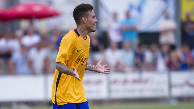 UE Olot – FC Barcelona B: Maxi Rolón decyduje o zwycięstwie (0:1)