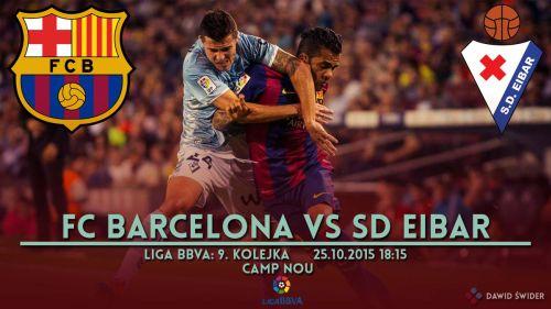 Zapowiedź meczu: FC Barcelona – SD Eibar