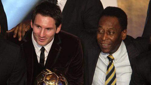 Pelé chwali Messiego