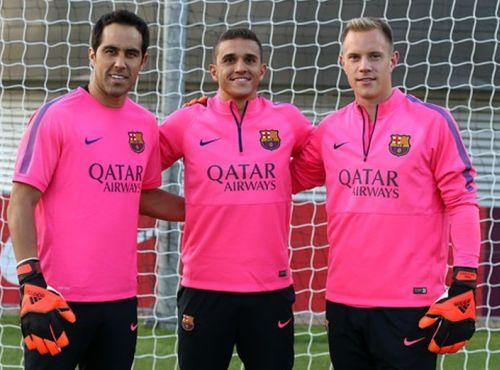 Nowa struktura bramkarzy w FC Barcelonie