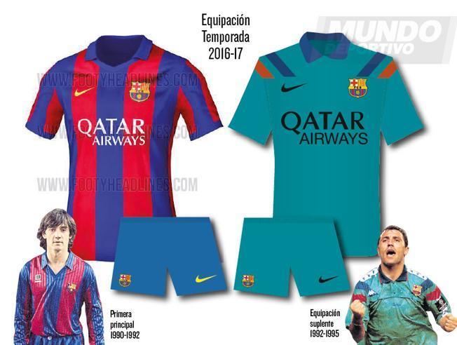 Pierwsze przecieki o koszulkach na sezon 2016/17