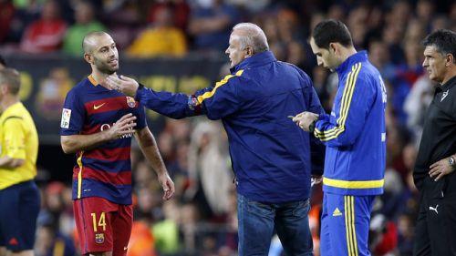 FC Barcelona odwoła się od kartki Mascherano