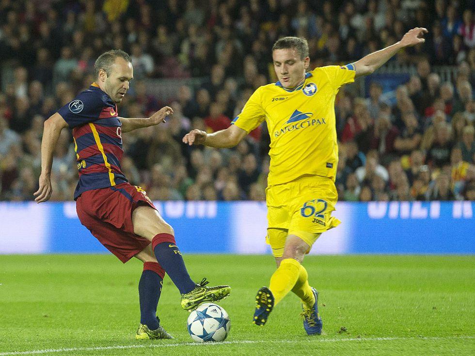 Iniesta: Jestem szczęśliwy z powrotu na boisko