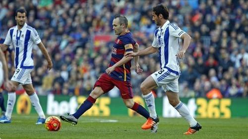 Raz, dwa, trzy, cztery. FC Barcelona – Real Sociedad 4:0