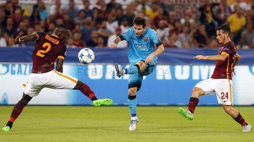 FC Barcelona – AS Roma; Składy